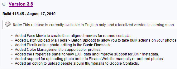 Picasa 3 8 – Learn Picasa and Google Photos!