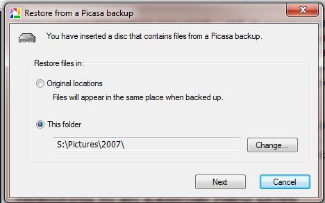 how to move google photos to external hard drive