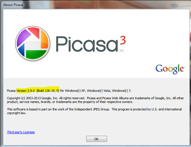picasa updates learn picasa and google photos