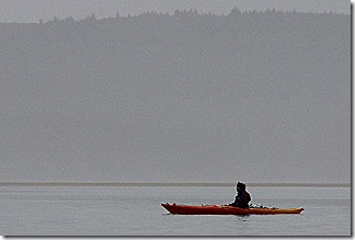 Kayak on Netarts Bay