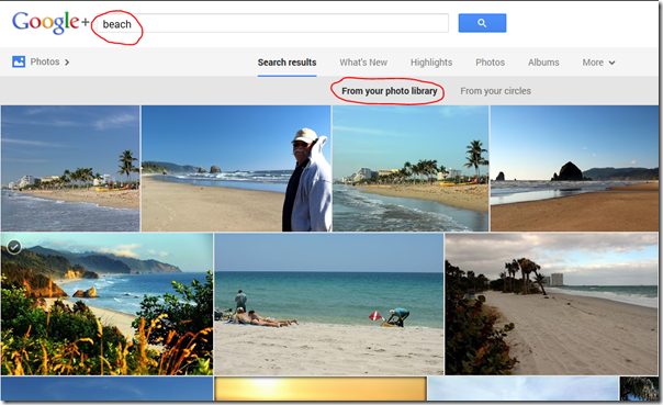 google PhotoSearch
