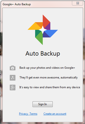 how to delete auto backup photos from picasa