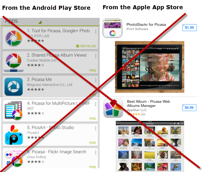 picasa 3 for android and ipad no such thing learn picasa and