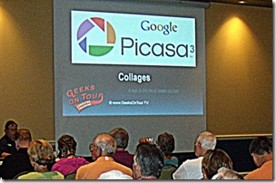 Geeks on Tour present Picasa Seminars