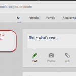 Where are your Web Albums in Google+?